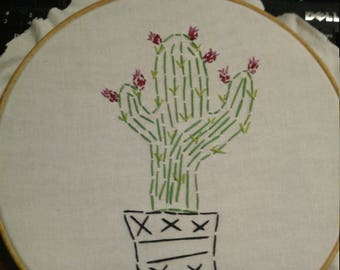 Prickly Pear Cactus stitch