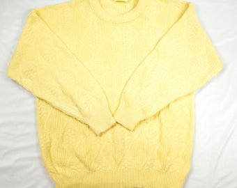 VTG St. John's Bay Buttercream Sweater