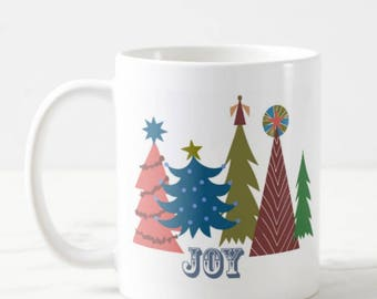 JOY - Big Coffee Mug Unique Coffee Mug Coffee Lover Gift Gift for Teacher Wedding Gift Cheap Christmas Gift Custom Mugs Gift Idea