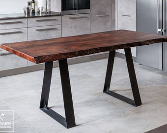 small dining table dining table slab loft table industrial dining table table