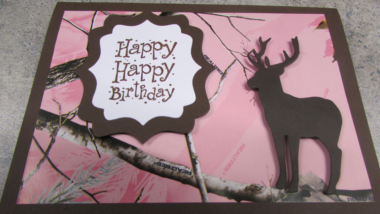 Humorousdeer birthday card pink camo e10261624441312311m humorousdeer birthday card pink camo bookmarktalkfo Image collections