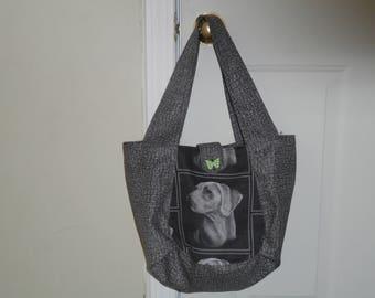 Weimeraner handbag tote