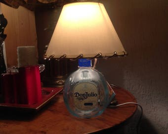Don Julio Blanco Tequila bottle lamp