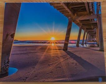 Coastal Beach Canvas