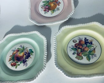3 Johnson Brothers plates