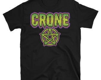 Crone Witch T- Shirt