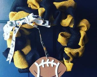 NFL Sports Wreath