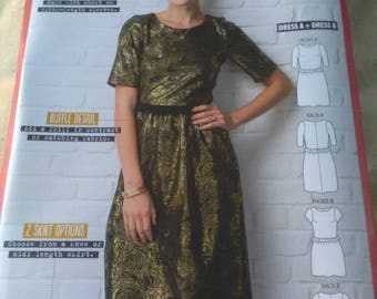 New sewing pattern simply sewing Esme dress. 2 variations sizes 6-20
