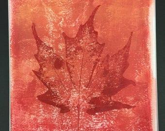 Fall Monoprint (2)