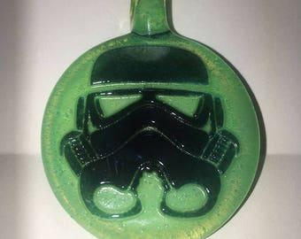Stormtrooper Glass Pendant