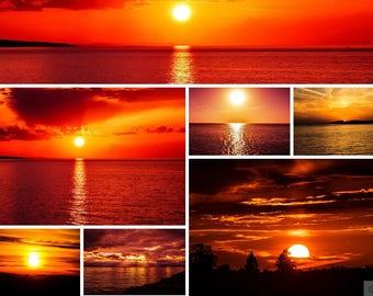 30 Sky  overlay | Sunset overlay   5400x3600