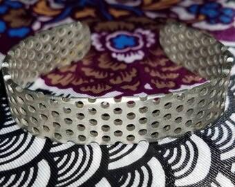 Unique Vintage Metal Hipster Cuff Bracelet - small