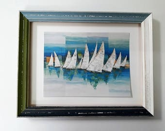 Four colors handmade frame in Italy