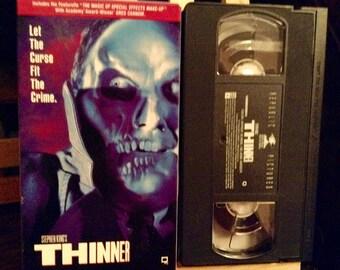 Stephen King's THINNER VHS Movie 90's Thriller