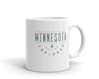 Minnesota Must Be Explored Funny MN State Gift Tea or Coffee Mug