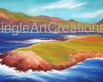 Three Sisters from Clogher Head, Dingle Peninsula, Kerry, Wild Atlantic Way, Ireland