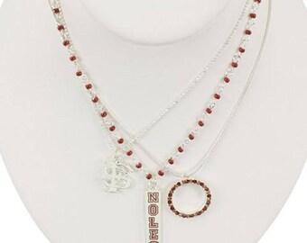 Florida State Trio Necklace Set