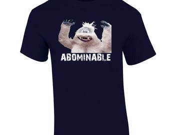 Christmas T Shirt Abominable Snowman Bumbles Shirt Holiday Christmas Shirt