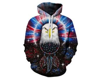 Eagle Hoodie, Eagle, Eagle Hoodies, Animal Prints, Animal Hoodie, Animal Hoodies, Eagles, Hoodie, 3d Hoodie, 3d Hoodies, Usa Hoodie Style 1