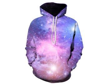 Galaxy Hoodie, Galaxy Sweatshirt, Galaxy, Galaxy Jumper, Galaxy Hoodies, Space, Space Hoodie, 3d Hoodie, 3d Hoodies, Hoodie - Style 60