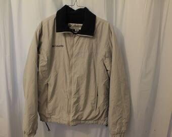 Vintage 90s Columbia Fleece Lined Coat - M