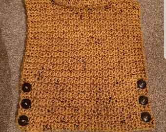 Crochet child's pullover