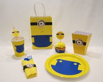 Minions Party Supplies - Kit #2 B