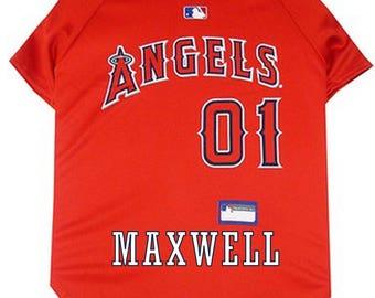MLB Los Angeles Angels  of Anaheim Pet Dog Jersey