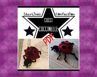 Toto pattern PDF cocci coccinelle crochet
