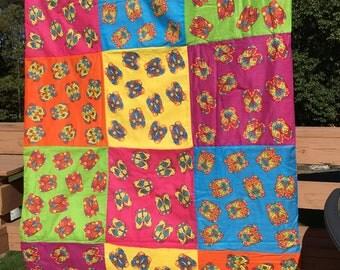 Flip flop quilt