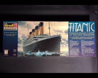 Revell Monogram Level 3 Titanic Plastic Model Kit - 1/570 Discontinued - Still Sealed