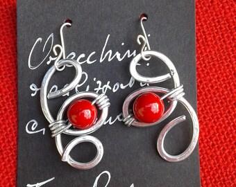 Celtic earrings, ethnic earrings,