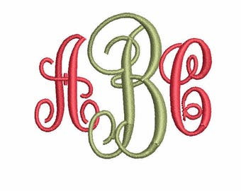 Embroidery Font Vine Monogram Font,embroidery designs,pes font,Monogram font,embroidery designs,PES embroidery,embroidery Machine Embroidery