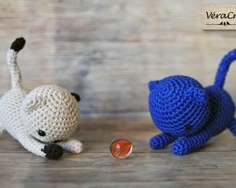 Amigurumi - crochet kitten