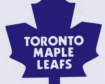 NHL - Toronto Maple Leafs Vinyl Sticker