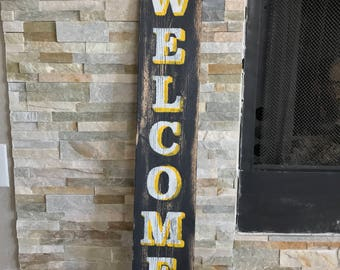Welcome Decorative Porch Sign -