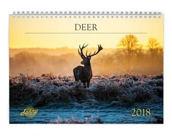 Deer 2018 Wall Calendar