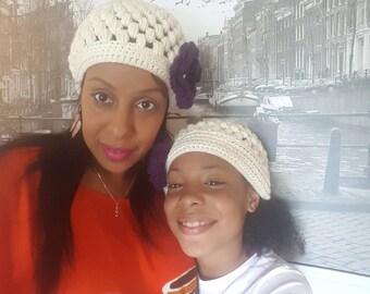 Mom & daughter Beanies Set of 2