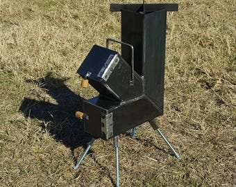 how to build a rocket stove pdf