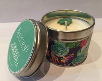 Frozen Margarita Hand Made Scented Candle.