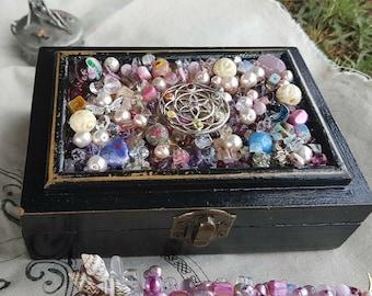 Flower of Life Tarot and Jewellery Box