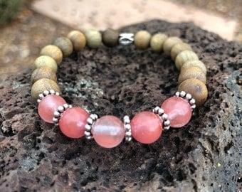 Feminine healing yogi bracelet