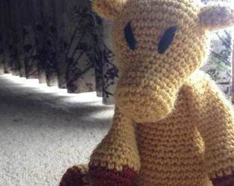 Crochet Camel Toy