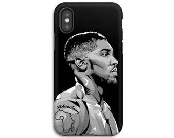 iPhone X Phone Case - iPhone 8 Case - iPhone Case - Samsung Galaxy - Galaxy S8 case - Anthony Joshua Tough Phone Case