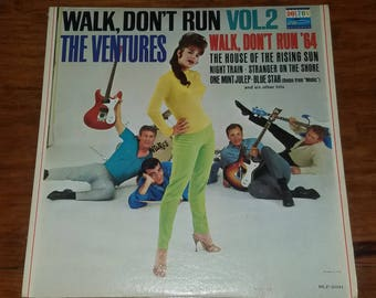 Vinyl: The Ventures, Walk Don't Run Vol. 2, Free Shipping