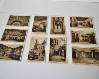 Cintra Portugal Unused Post Cards From 1931 - Set Of 10 cards