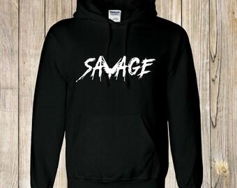 unisex kids SAVAGE hoody, jake logan paul INSPIRED , youtube printed hoodie