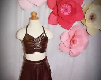 Dance skirt bronze