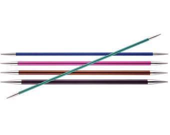 Zing double pointed knitting needles 15 cm from Knit Pro