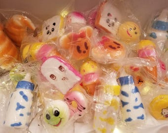 Squishes assortment 10 pack or 5 pack mystery box
